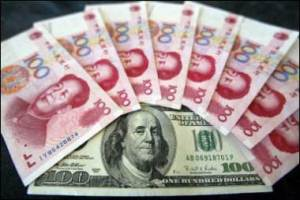 dollars vs yuan